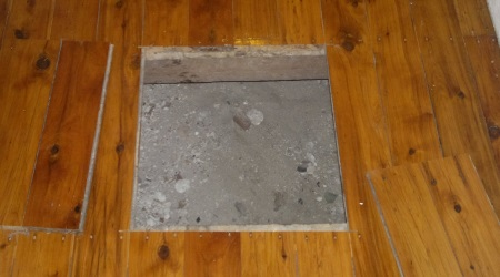 Man Hole To Sub-floor